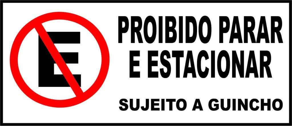 Estacionar em local proibido