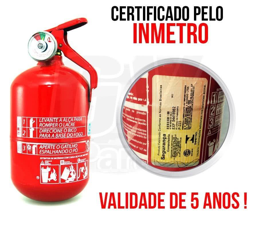 Extintores ABC - Novos Extintores