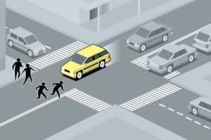Muitos não sabem, mas existe um artigo que pune e multa que dirige ameaçando pedestres. (Foto: Divulgação)