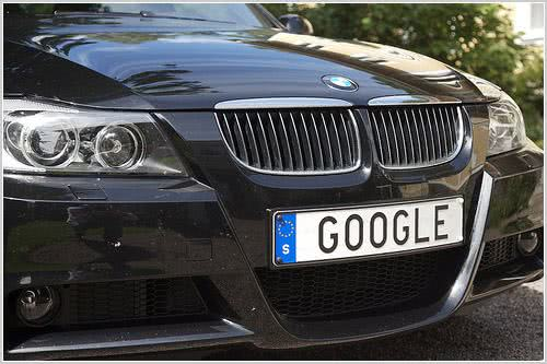 google-placa-carro